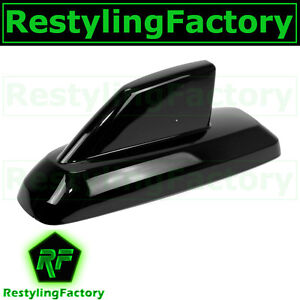 "15-16 Chevy Silverado 2500+3500+HD Gloss Black Antenna Cover 7"" Long Base"