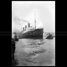 Photo B.003776 USS IMPERATOR 1919 WW1 TROOPSHIP HAMBURG AMERICA LINE OCEAN LINER