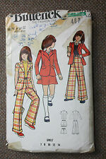 Butterick Sewing Pattern Girl's Jacket,Pants and Skirt Size  Girl's 14