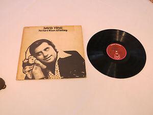 David Frye Richard Nixon A Fantasy 1600 Buddah Records LP Album record vinyl*^