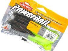 "BERKLEY PowerBait Green Pumpkin Chartreuse POWER WORM 7"" Fishing Lure! 1307486"