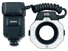 Sigma EM-140 DG iTTL Macro ring Flash For Nikon Cameras (UK Stock) BNIB