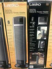 Lasko Ceramic Tower Heater With Remote Oscillating Ct30754