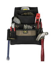 CLC 3.75 in. W x 14.25 in. H Polyester Tool Bag 11 pocket Black/Tan 1 pc