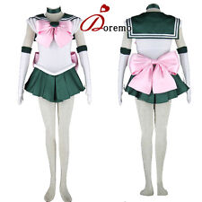 SAILOR MOON Sailor Jupiter Cosplay Costume Turnouts Party Dress Customized New