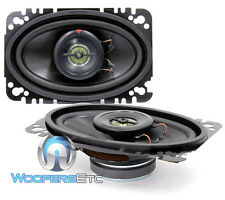 "KENWOOD KFC-4675C 4"" X 6"" COAXIAL 2-WAY 120W CAR SPEAKERS BUILT IN TWEETERS NEW"