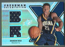 Brandon Rush 2008-09 SPX Freshman Orientation Orange Jersey card
