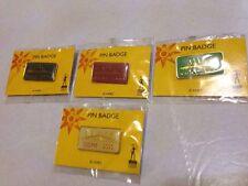 Millennium Dome Pin Badge Vintage Set Of Four Collectible