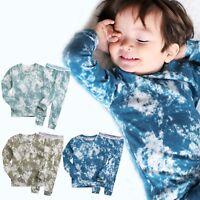 """Vaenait Baby Infant Toddler Kids Boys Clothes Pajama Set """"Prism Boy"""" 12M-7T"""