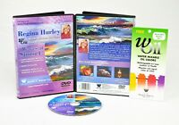 "REGINA HURLEY,  1 Hour DVD, "" Waves at Sunset"" FINE ART OIL PAINTING LESSONS,"