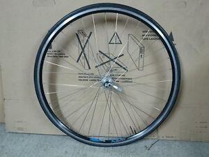 Used rear wheel Shimano Altus FH-HG20 Rigida Nova 28 trekking road bicycle