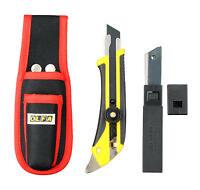 "Olfa Cuttermesser L5 + 5 Klingen18mm+ Tasche Teppichmesser PROFI ""Made in Japan"""