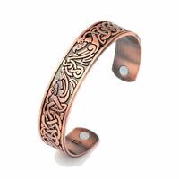 Bracelet magnétique en cuivre avec aimants  Anti-Douleurs Rhumatisme Arthrose