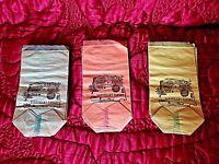 Lot de 21 petits sacs/sachets en papier d'épicerie fine-neufs-vintage 1950
