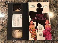 Norma Jean And Marilyn VHS! 1996 Drama! De-Lovely Get On Up Love And Mercy