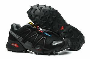 New men's Salomon Speedcross 3 sports running sports outdoor hiking shoes A+