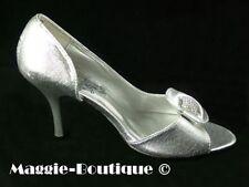 Decolté e sabot da donna spillo in argento