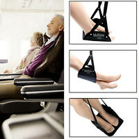 Travel Foot Hammock Rest with Eye Mask Combo for Airplane Car Home Office etc.