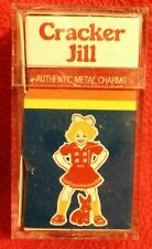 Cracker Jill vintage authentic metal charms, red shoes