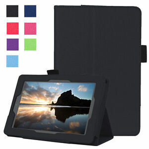 NEW Folding Leather Case Stand Smart Cover For Amazon Kindle Fire 7 2019 / 2017