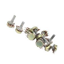 Pack of 12 1K 2K 5K 10K Ohm Single Linear Taper Rotary Audio Potentiometer Kit