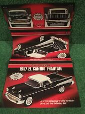 "Danbury Mint ""The 1957 El Camino Phantom.""  Brochure!"