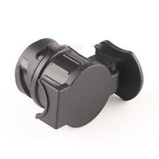 Car Trailer Truck 13 Pin to 7 Pin Plug Adapter Converter Tow Bar Socket Black MW