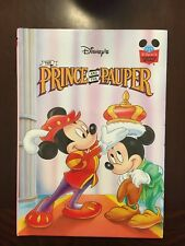 Disney's Wonderful World Of Reading The Prince And The Pauper