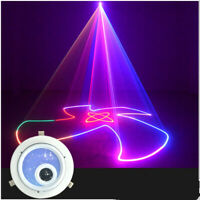 1W Mini DMX LED Projector RGB Full-color Animated Laser Stage Light for KTV lamp