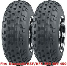 Kawasaki KSF/KFX 250 400 450 ATV 2 front 21x7-10 21x7x10 Knobby tires