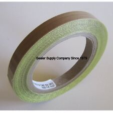 PTFE Tape Teflon Tape for Vacuum, Hand & Impulse Sealers 1/2-inch x 30 feet 3mil