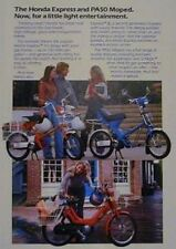 1979 HONDA EXPRESS, EXPRESS II & PA50 MOPED COLOR Ad