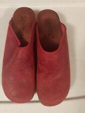 Sanita  Clog In Red Size 39