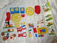 VINTAGE LEGO FABULAND SPARES 3683 AMUSEMENT PARK 3633 HARBOR 3646 KITCHEN