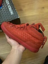 Patrick Mohr K1x Red Suede Size 7