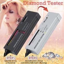 NEW Diamond Tester V2 & Moissanite Selector Gemstone Jewelry Gems Tool LED Audio
