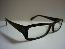 Zero X ZX-5002 Frames Glasses Eyeglass Spectacle Chunky Black and Red Ref:783