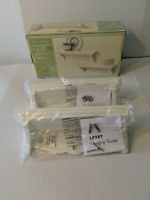 Pair Of Spa Linea,Sturdy Wood Wall Shelves, White, New In Box w/Hardware
