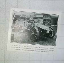 1905 Universal Agricultural Motor Lorry Hauling Ploughing Mowing Reaping