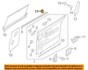 KIA OEM 15-16 Sedona Side Loading Door-Sunshade Hook 83912A9000