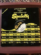 "SPECIALTY RECORDS 12"" Dance Remix LITTLE RICHARD Lucille AND Heebie-Jeebies"