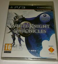 White Knight Chronicles PS3 New Sealed UK PAL Version Game Sony PlayStation 3