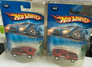 2005 Hot Wheels Treasure TH t-Hunt Red 1967 '67 Chevy Camaro LOT of 2 variation
