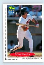 1991 Classic Best Steve Martin High Desert Mavericks #85