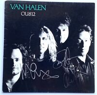 Van Halen signed album ou812 group autographed sammy hagar epperson loa