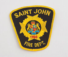 Saint John Fire Department Patch Fabric (A4L)