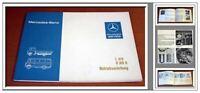 Mercedes Benz L410 + O309 B Betriebsanleitung 1982 Wartung und Pflege