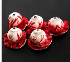 Halloween Decoration Bloody Eyeball Eye Ball Latex Halloween Horror Prop Zombie