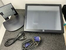 """Elo TouchSystems ET1515L-7CWA-1-G 15"""" Touchscreen LCD Flat Panel Monitor as is"""