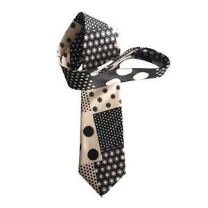 Stanley Ipkiss Dotted Silk Necktie The Mask Movie Neck Tie Jim Carrey Costume